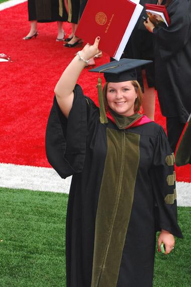 Candi grad - Yeah - Diploma for blog